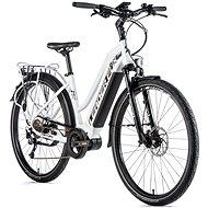 "Leader Fox Denver dámsky biela matná/čierna 16,5"" - Trekingový elektrobicykel"