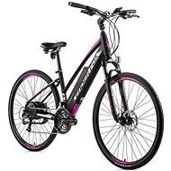 """Leaderfox Venosa 28"""" čierna mat/fialová 16,5"""" veľ. S - Krosový elektrobicykel"""
