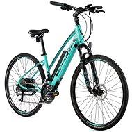 "Leaderfox Venosa 28"" modro zelená/čierna 16,5"" - Krosový elektrobicykel"