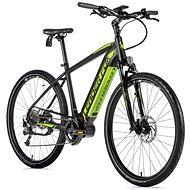 """Leader Fox Bend 28"""" čierna mat/zelená - Krosový elektrobicykel"""