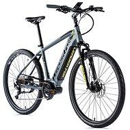 "Leader Fox Bend 28"" sivá - Krosový elektrobicykel"