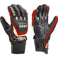 Leki rukavice Glove Worldcup Race Coach Flex S GTX black-red-white-yellow - Rukavice