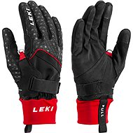 Leki rukavice Glove Nordic Circuit Shark black-red vel. 8 - Rukavice