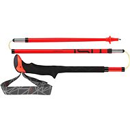 Leki Micro Stick Carbon red-black-white - Palice