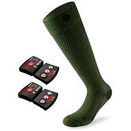 Lenz set heat sock 4.0 toe cap + lithium pack rcB 1200/green - Vyhrievané ponožky