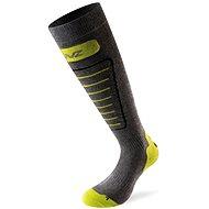 Lenz Skiing 1.0  40 sivé/zelené - Lyžiarske ponožky