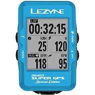 Lezyne Super GPS Special Edition – Blue - Cyklocomputer