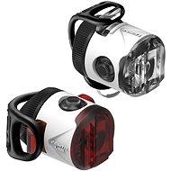Lezyne Femto USB Drive Pair White - Svetlo na bicykel