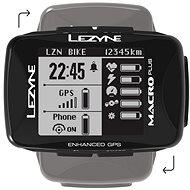 Lezyne MACRO PLUS GPS BLACK - Cyklonavigácia