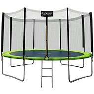 LIFEFIT 12 ' / 366 cm incl. nets and steps - Trampoline