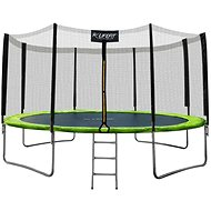 LIFEFIT 14'/424cm incl. Nets and Steps - Trampoline