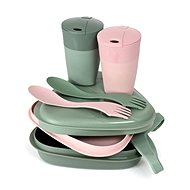 Light My Fire Pack´n Eat Kit BIO sandygreen/dustypink - Sada riadu