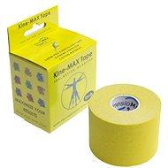 KineMAX SuperPro Cotton kinesiology tape yellow - Tape