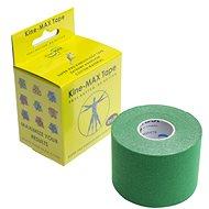 KineMAX SuperPro Cotton kinesiology tape zelená