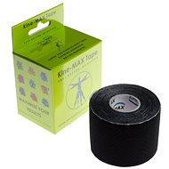 KineMAX SuperPro Rayon kinesiology tape black - Tape
