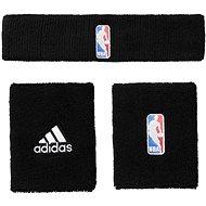 Adidas NBA Wristband plus Headband Black Men - Súprava