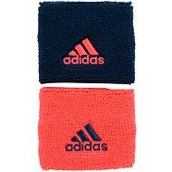 Adidas Small Wristbands Coral/Blue - Potítko