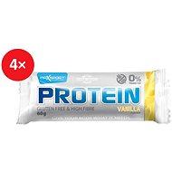 MAX SPORT PROTEIN gluten free vanilka 4x60 g - Proteínová tyčinka
