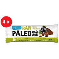 MAX SPORT RAW PALEO BAR kakao lieskov. 4× 50 g - Raw tyčinka