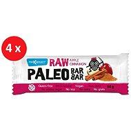 MAX SPORT RAW PALEO BAR jablko škorica 4× 50 g - Raw tyčinka