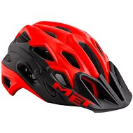 MET LUPO červená/čierna matná - Prilba na bicykel