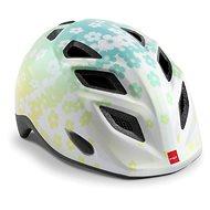 MET ELFO detská kvety/biela lesklá S/M - Prilba na bicykel