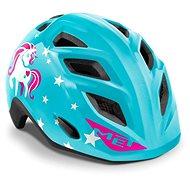 MET ELFO detská jednorožec/modrá lesklá S/M - Prilba na bicykel