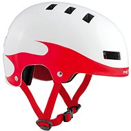 MET YOYO detská plamene/červená/biela lesklá - Prilba na bicykel