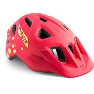 MET ELDAR polovica bodky/ružová matná - Prilba na bicykel