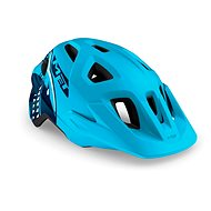 MET ELDAR žralok/modrá matná - Prilba na bicykel