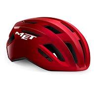 MET VINCI MIPS červená metalická lesklá
