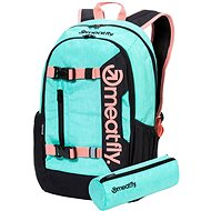 Meatfly Basejumper 6 Backpack, Heather Mint - Batoh