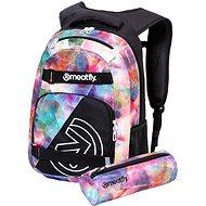 Meatfly Exile 5 Backpack, Universe Colour, Black - Backpack