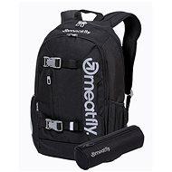 Mestský batoh Meatfly BASEJUMPER Backpack, Black