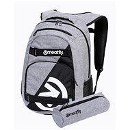 Mestský batoh Meatfly EXILE Backpack, Grey Heather