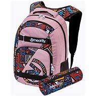 Mestský batoh Meatfly EXILE Backpack, Old Rose/Dancing  Earth
