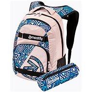 Mestský batoh Meatfly EXILE Backpack, Powder Pink/Dancing Mint