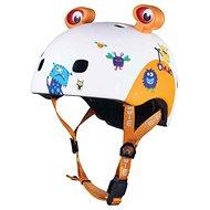 Micro LED 3D Monsters veľ. XS (46 – 50 cm) - Prilba na bicykel