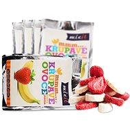 Mixit Crunchy Fruit Pocket - Banana + Strawberry (5pcs) - Freeze-Dried Fruit