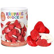 Mixit Banana Strawberry - Crunchy Fruit - Freeze-Dried Fruit