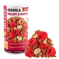 Mixit Granola from the oven - Raspberries and almonds - Granola