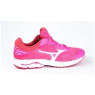Mizuno Wave Rider 22 Jr./Pink Glo/Port Royale/Charlock veľkosť 36 EU/235 mm - Bežecké topánky