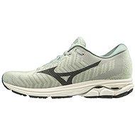 Mizuno WAVE RIDER WAVEKNIT3 sivá/tyrkysová - Bežecké topánky