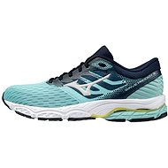 Mizuno Wave Prodigy 3 tyrkysová / biela - Bežecké topánky