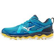 Mizuno Wave Mujin 7 modrá / žltá - Bežecké topánky