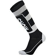 Mons Royale Mons Tech Cushion Sock, Black/Grey - Socks