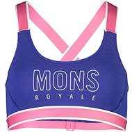 Mons Royale Stella X-Back Bra Ultra Blue - Podprsenka