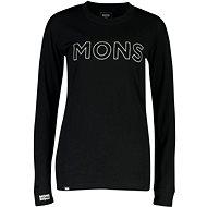Mons Royale Yotei BF Tech LS Black - Tričko