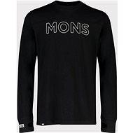 Mons Royale Yotei Tech LS Black - Tričko