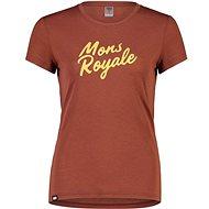 Mons Royale Icon Tee Chocolate